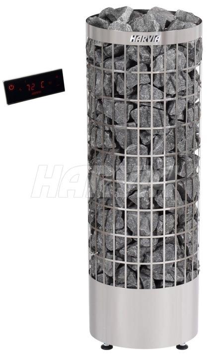 Електрокам'янка Harvia Cilindro PC110EE Steel