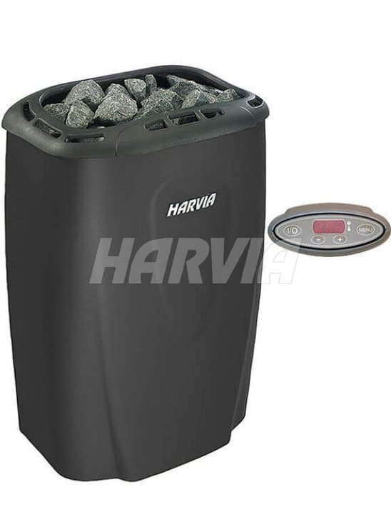 Електрокам'янка Harvia Moderna V80E Black