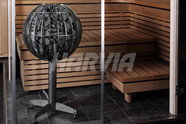 Електрокам'янка Harvia Globe GL70E. Фото 3
