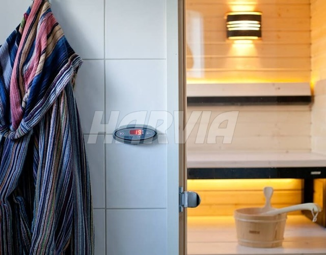 Электрокаменка Harvia Cilindro PC70EE Steel. Фото 3