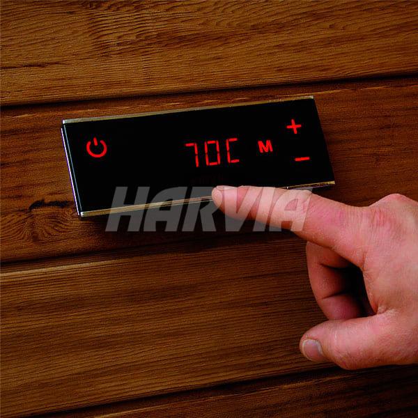 Електрокам'янка Harvia Forte AFB9 Black. Фото 3