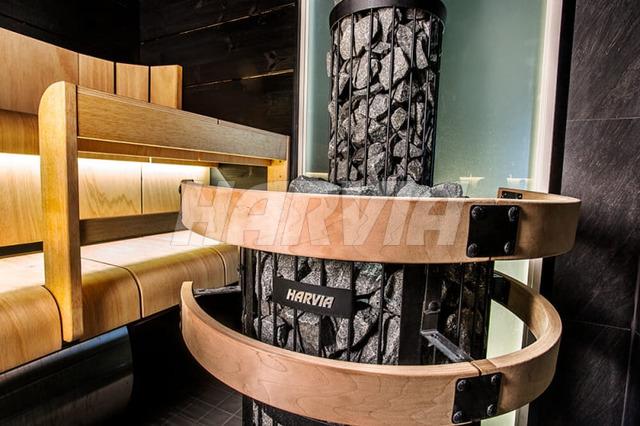 Печь дровяная Harvia Legend 300 Duo. Фото 2