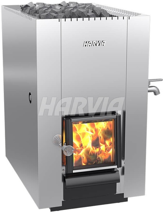 Печь дровяная Harvia 22 ES Steel