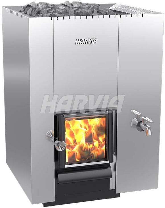 Піч дров'яна Harvia 22 RS Steel