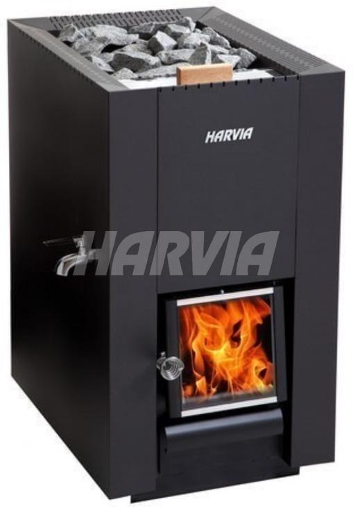 Печь дровяная Harvia Linear 22 ES