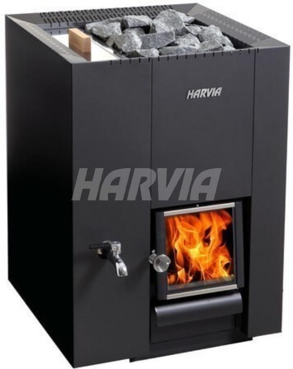 Печь дровяная Harvia Linear 22 LS