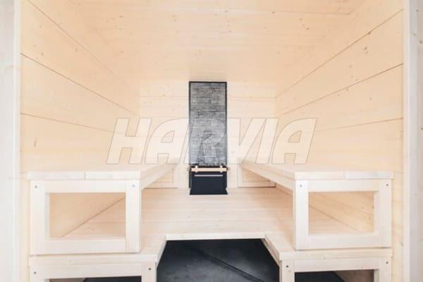 Готова сауна Harvia Solide Indoor S2125LD. Фото 5