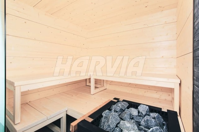 Готова сауна Harvia Solide Indoor S2125LD. Фото 6