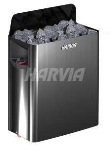 Електрокам'янка Harvia The Wall SW80 Black Steel