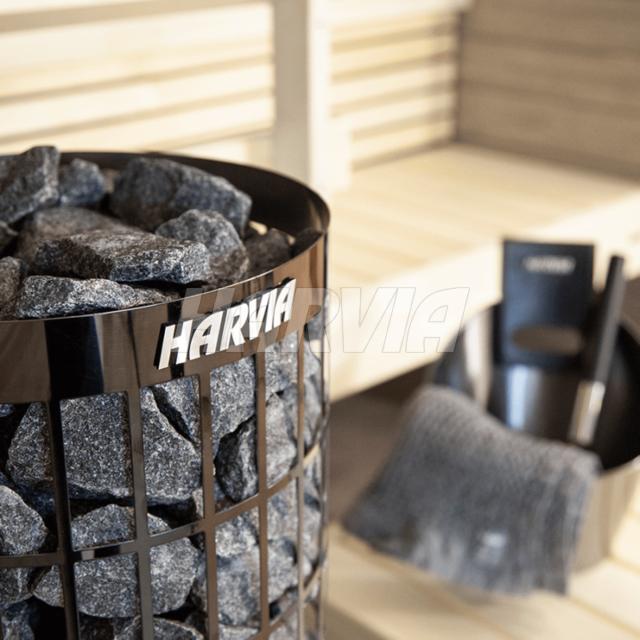 Электрокаменка Harvia Cilindro PC70 Black Steel. Фото 2