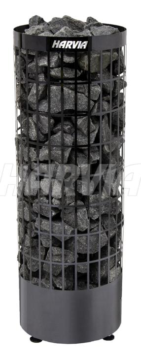 Електрокам'янка Harvia Cilindro PC90E Black Steel