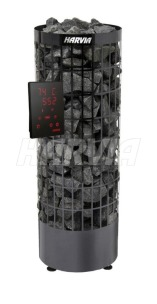 Електрокам'янка Harvia Cilindro PC70XE Black Steel